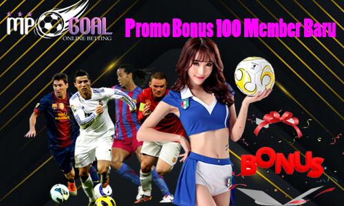 Promo Bonus 100 Member Baru